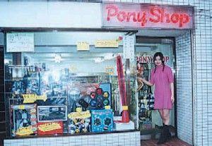 おもちゃのポニー(pony)