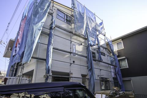 和光市S様邸 施工状況 20140113