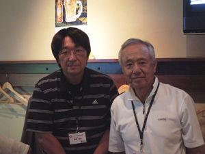 8-29-3佐久間先生と坂井OB