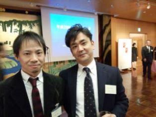 0128-6 和田・阿部先生 japrs新年会
