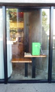 0807-3 上野文化会館 公衆電話