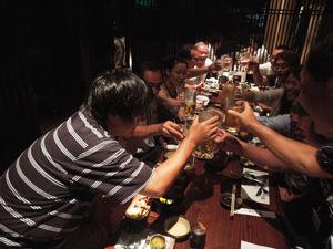 8-29-2新潟TOHO会乾杯