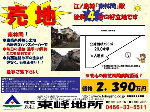 上鶴間販売図面(レインズ図面)