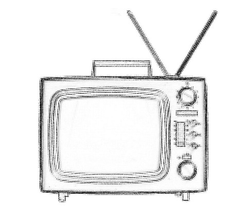 old-silver-tv