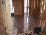 2階床暖房パネル