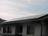H様邸太陽光発電工事