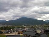 恵那山を望むことができます