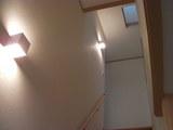 天窓のある階段