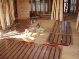 1階床暖房敷設