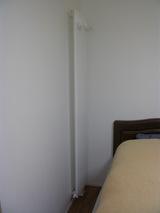 寝室のパネルヒータ