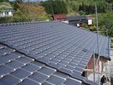 この屋根に太陽光発電を設置します