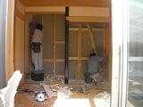 和室解体工事
