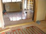 ダイニング・キッチン床暖房パネル
