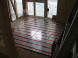 書斎の床暖房
