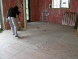 パネル施工目の清掃