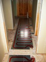 廊下の床暖房〜いいんです