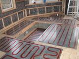 掘りごたつ内も床暖房