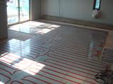 ダイニング床暖房パネル