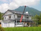 長野県H様邸太陽光発電システム工事