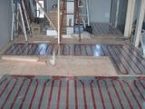 キッチン床暖房パネル