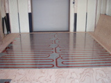 リビング床暖房