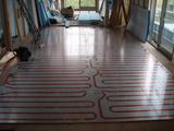 床暖房パネル工事