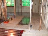 1階床暖房パネル