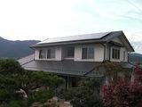 H様邸太陽光発電工事1