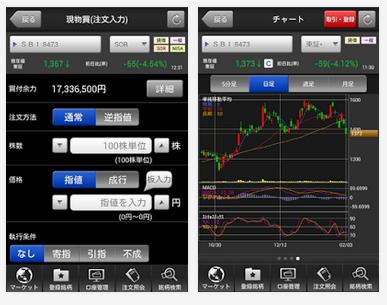 HYPER株アプリ画面2