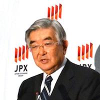 日本取引所グループ斉藤惇CEO