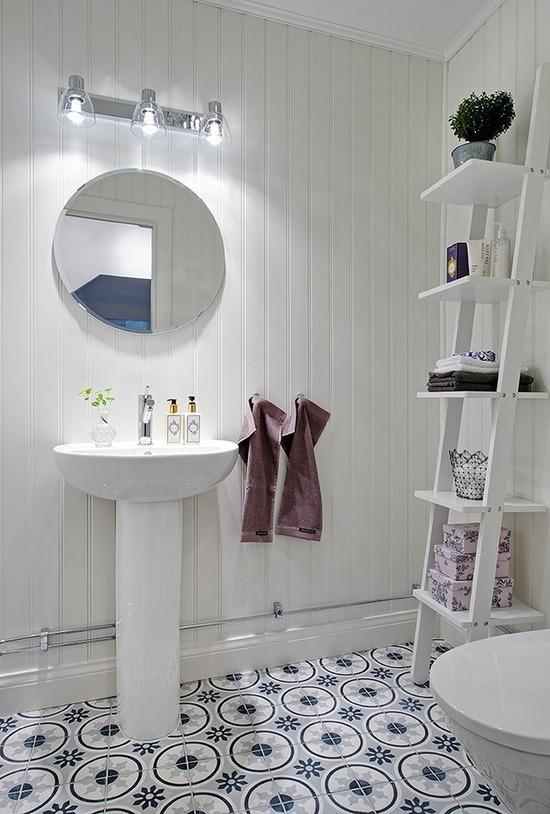 おしゃれな北欧スタイルのトイレ
