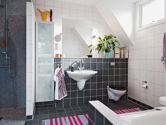 Azulejos Para Baño Recubre:おしゃれな北欧インテリアのトイレ 参考実例