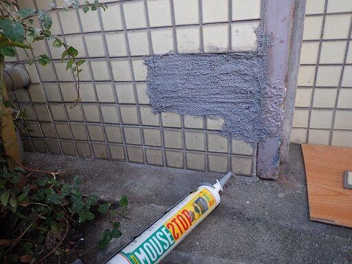 PB010703表面に塗布して施工完了