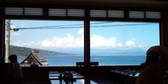海の見える場所。