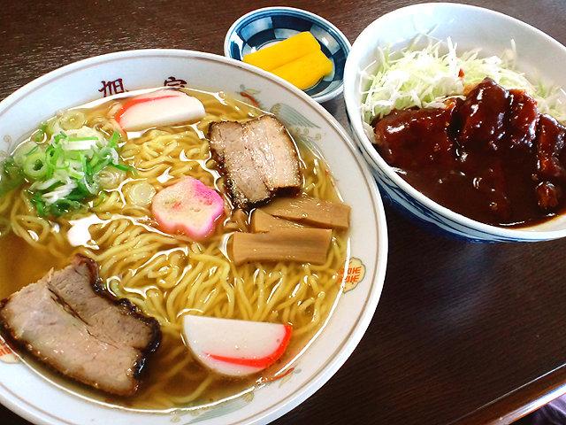 asahiyasyokudou_chuka_katsudon