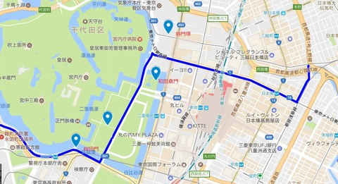 日本橋~桜田門