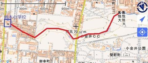 石神井川推測図