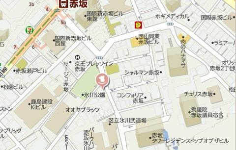 YAKIYA地図