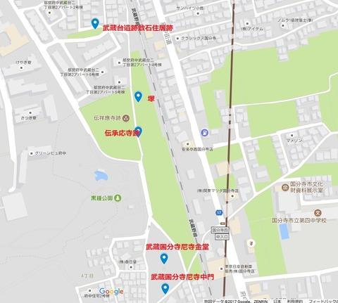 国分寺 鎌倉街道