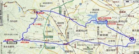 正月ツーリング地図