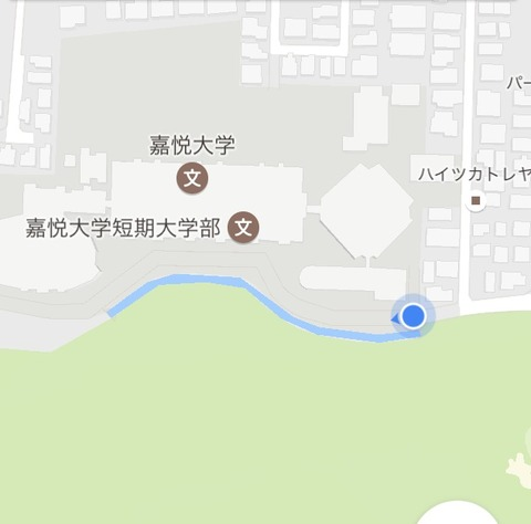 石神井川上端