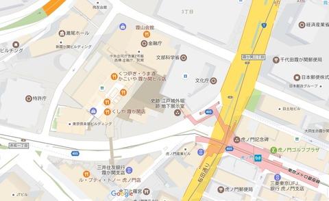 虎ノ門地図