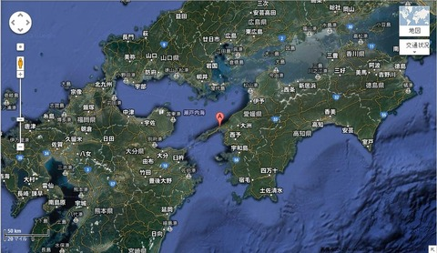 伊方原子力発電所立地