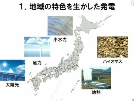 2 地域の特性を生かした発電