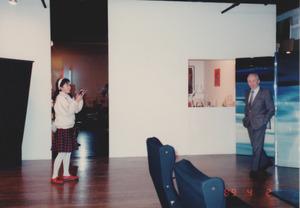 1989年4月2日NYレオカステリと上岡麻衣子