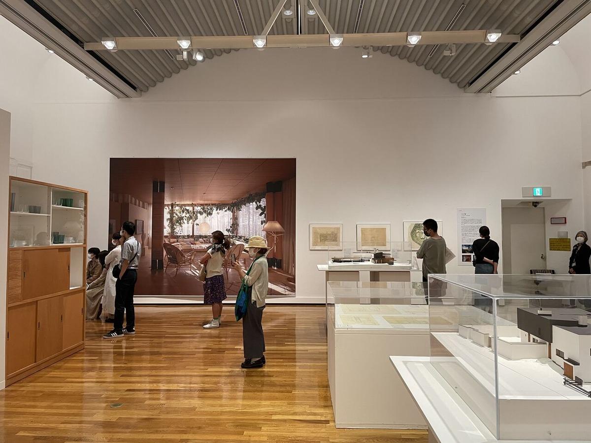 王聖美〜気の向くままに展覧会逍遥第15回「アイノとアルヴァ 二人のアアルト フィンランドー建築・デザインの神話」展を訪れて
