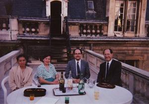 1988年パリ・カルナヴァル美術館モンゴルフィエ館長
