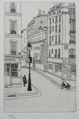 風間完パリ時代1-街の時計