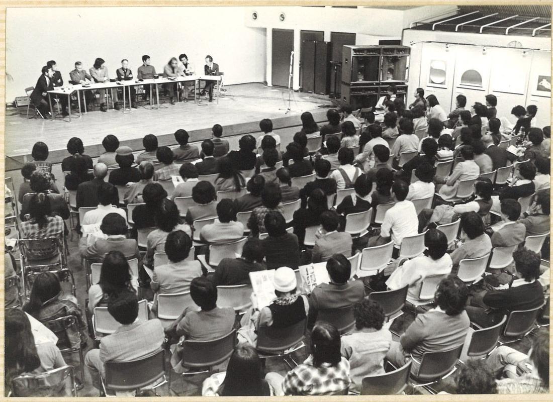 19771021現代と声一日だけの展覧会渋谷ヤマハエピキュラスにて_00004