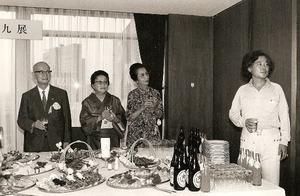 1979年小田急・瑛九展レセプション